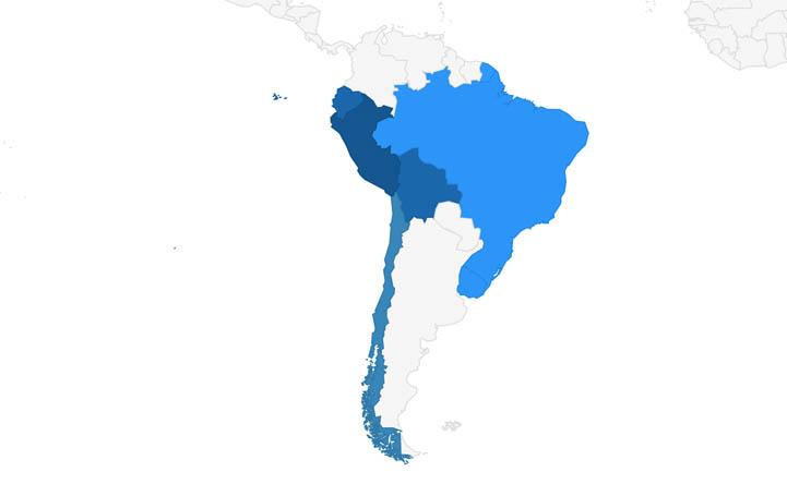 Atlantis South-America Network